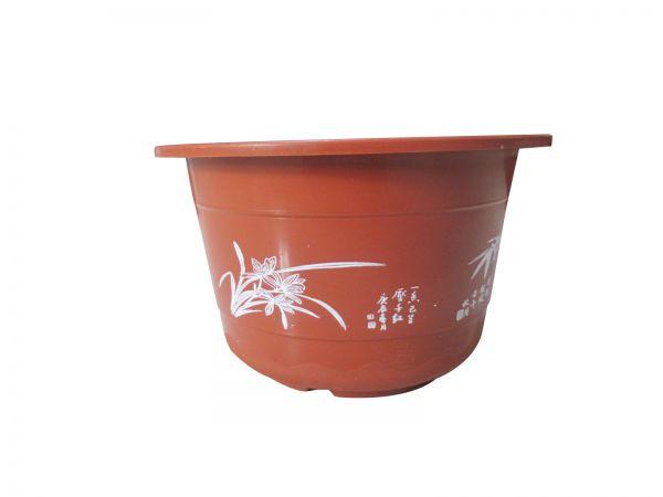 印花花盆图案选择-文安县花伴侣塑料花盆厂
