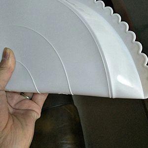 可弯折圆形托盘
