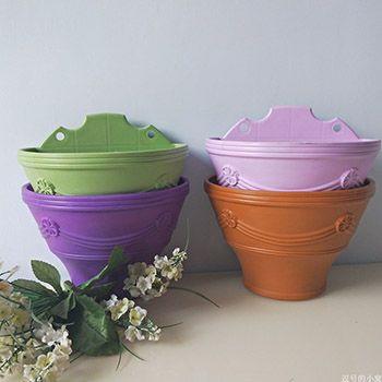多彩欧式花盆